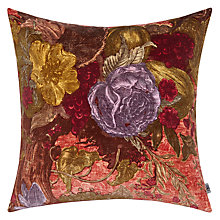 Buy Timorous Beasties for John Lewis Tree of Life Cushion, Cerise Online at johnlewis.com
