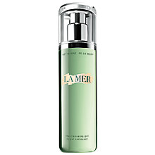 Buy Crème de la Mer The Cleansing Gel, 200 ml with Free Lifting Contour Serum, 15ml Online at johnlewis.com