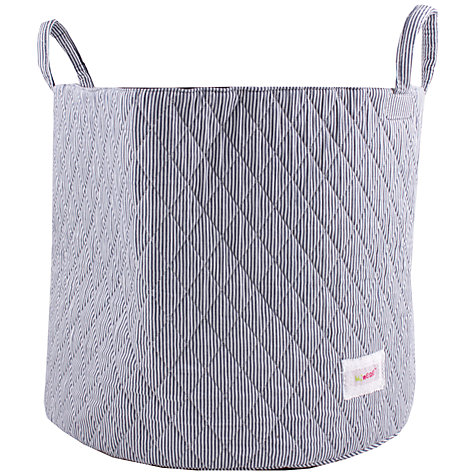Buy Minene Striped Storage Bag, Navy Online at johnlewis.com