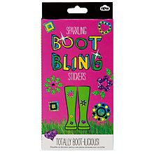 Buy Sparkling Boot Bling Stickers, Multi Online at johnlewis.com