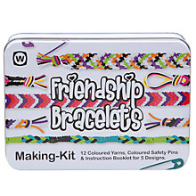 Buy Friendship Bracelet Kit, Multi Online at johnlewis.com