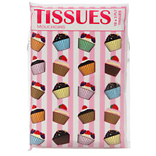 Buy Cupcake Tissues, Multi Online at johnlewis.com