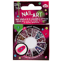 Buy Nail Art Gem Wheel, Multi Online at johnlewis.com