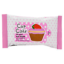 Buy Cupcake Mini Wet Wipes, Multi Online at johnlewis.com