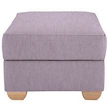 Buy John Lewis Walton Footstool with Light Legs Online at johnlewis.com
