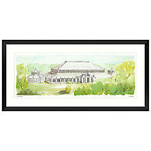 Buy Ulyana Hammond - Kew Gardens Framed Print, 52 x 107cm Online at johnlewis.com