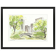 Buy Ulyana Hammond - Central Park 2 Framed Print, 42 x 54cm Online at johnlewis.com