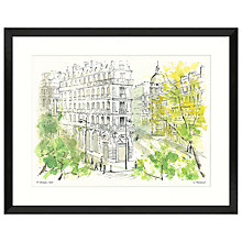 Buy Ulyana Hammond - St Germain Framed Print, 61 x 77cm Online at johnlewis.com