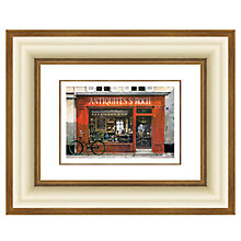 Buy Louis Du Var - Antique Shop Framed Print, 44 x 54cm Online at johnlewis.com