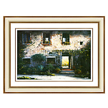 Buy Louis Du Var - Tuscan Farmhouse Framed Print, 88 x 114cm Online at johnlewis.com