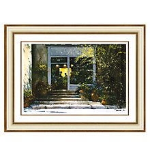 Buy Louis Du Var - Flower Shop Framed Print, 88 x 114cm Online at johnlewis.com