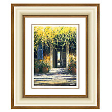 Buy Louis Du Var - Open Door Framed Print, 64 x 54cm Online at johnlewis.com