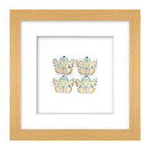 Buy Daisy Maison Blue Duck 3D Laser-cut Print, 26 x 26cm Online at johnlewis.com