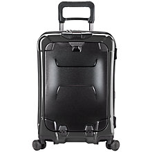 "Buy Briggs & Riley Torq 4-Wheel 15.6"" Laptop 54.4cm Cabin Suitcase, Graphite Online at johnlewis.com"