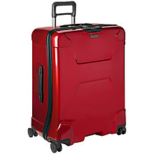 Buy Briggs & Riley Torq 4-Wheel Large Suitcase, Ruby Online at johnlewis.com
