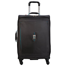 Buy Delsey Passage 4-Wheel Expandable Medium Suitcase, Silver Online at johnlewis.com