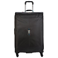 Buy Delsey Passage 4-Wheel Expandable Large Suitcase, Anthracite Online at johnlewis.com