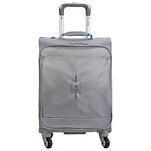 Buy Delsey Passage 4-Wheel Cabin Suitcase, Silver Online at johnlewis.com