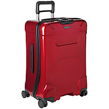 Buy Briggs & Riley Torq 4-Wheel Medium Suitcase, Ruby Online at johnlewis.com