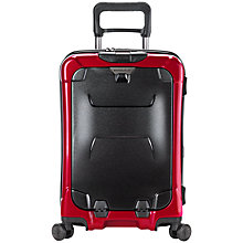 "Buy Briggs & Riley Torq 4-Wheel 15.6"" Laptop 54.4cm Cabin Suitcase, Ruby Online at johnlewis.com"