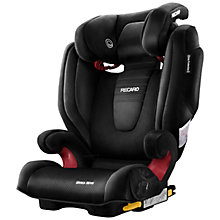 Buy Recaro Monza Nova 2 Seatfix Group 2/3 Car Seat, Black Online at johnlewis.com