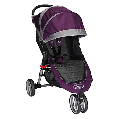 Baby Jogger City Mini 3 Wheel Pushchair, Purple