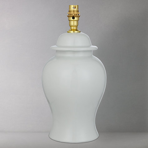 Buy India Jane Casablanca Temple Jar Lamp Base, Small Online at johnlewis.com