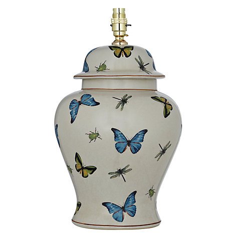 Buy India Jane Butterfly Tall Jar Lamp Base Online at johnlewis.com