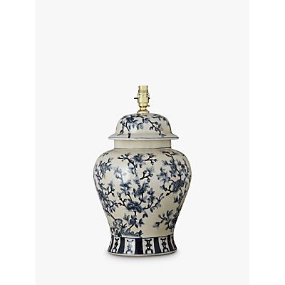 India Jane Tea Tree Temple Jar Lamp Base