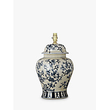 Buy India Jane Tea Tree Temple Jar Lamp Base Online at johnlewis.com