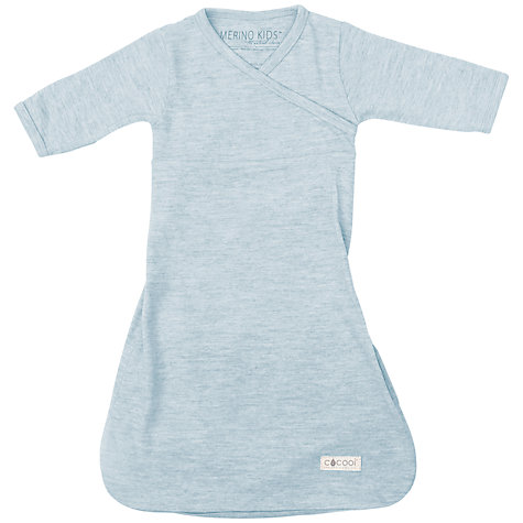 Buy Merino Kids Baby Gown, 0-3 Months, 0-3 Months, Turtle Dove Online at johnlewis.com
