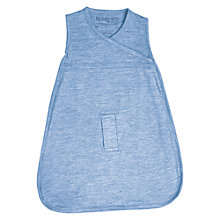 Buy Cocooi Merino Wool Baby Sleeping Bag, 0-3 Months, Banbury Blue Online at johnlewis.com
