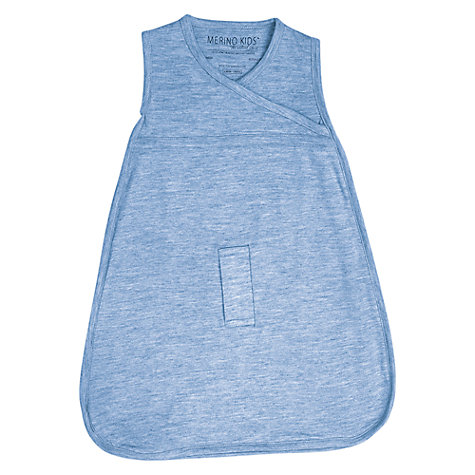 Buy Merino Kids Baby Sleeping Bag, 0-3 Months, Banbury Blue Online at johnlewis.com