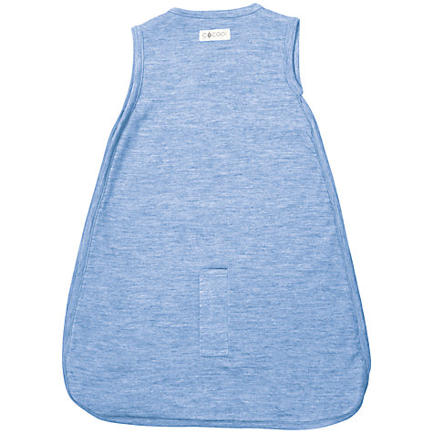 Buy Merino Kids Baby Sleep Bag, 0-3 Months, Banbury Blue Online at johnlewis.com