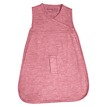 Buy Merino Kids Baby Sleep Bag, 0-3 Months, Raspberry Online at johnlewis.com