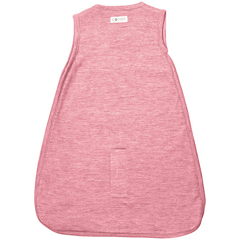 Buy Cocooi Merino Wool Baby Sleeping Bag, 0-3 Months, Raspberry Online at johnlewis.com