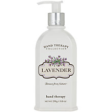 Buy Crabtree & Evelyn Lavender Hand Therapy Cream, 250ml Online at johnlewis.com