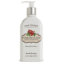 Buy Crabtree & Evelyn Pomegranate Hand Therapy Cream, 250ml Online at johnlewis.com