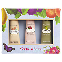Buy Crabtree & Evelyn Botanical Hand Therapy Gift Set, 3 x 25g Online at johnlewis.com