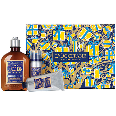 Buy L'Occitane Men's Shower and Shave Collection Online at johnlewis.com