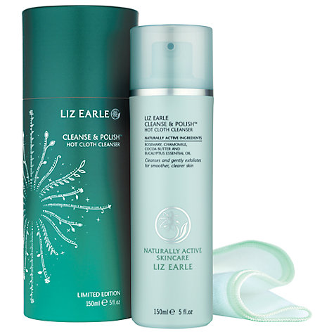 Buy Liz Earle Limited Edition Cleanse & Polish Hot Cloth Cleanser, 150ml Online at johnlewis.com