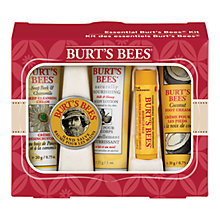 Buy Burt's Bees Essentials Kit Online at johnlewis.com