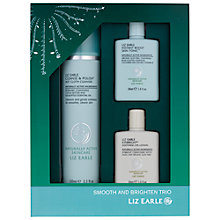 Buy Liz Earle Smooth & Brighten Trio Gift Set Online at johnlewis.com