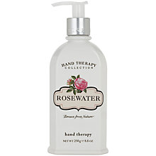 Buy Crabtree & Evelyn Rosewater Hand Therapy Cream, 250ml Online at johnlewis.com