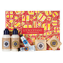 Buy L'Occitane Extra Pampering Shea Butter Collection Online at johnlewis.com