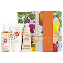 Buy Crabtree & Evelyn Tarocco Orange, Eucalyptus & Sage Little Luxuries Set Online at johnlewis.com