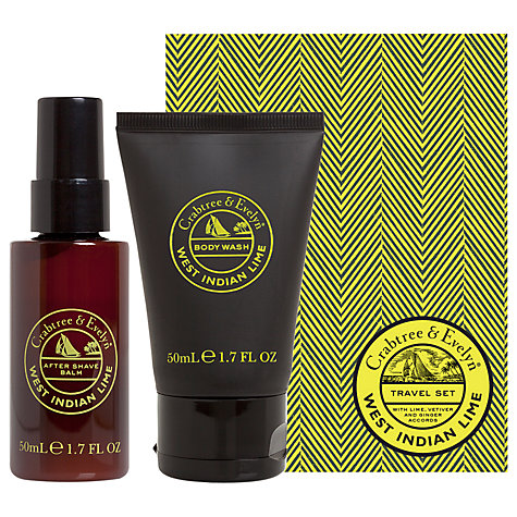 Buy Crabtree & Evelyn West Indian Lime Men's Duo, 2 x 50ml Online at johnlewis.com