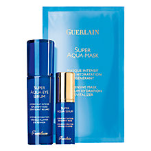 Buy Guerlain Super Aqua Full Eye Set Online at johnlewis.com