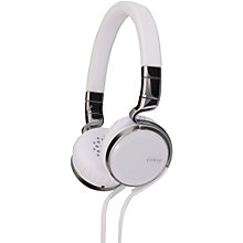 Buy JVC Ésnsy HA-SR75S On-Ear Headphones with FREE JVC Ésnsy HA-FX45S In-Ear Headphones, White Online at johnlewis.com