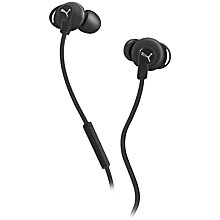Buy Puma PMAD6032 Bulldog In-Ear Headphones with Mic/Remote Online at johnlewis.com